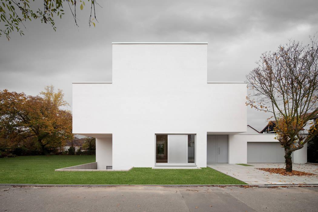 Strassenansicht:  Häuser von bilger fellmeth,Modern