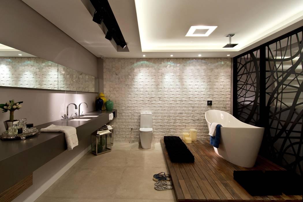 Baños de estilo ecléctico de ArchDesign STUDIO Ecléctico