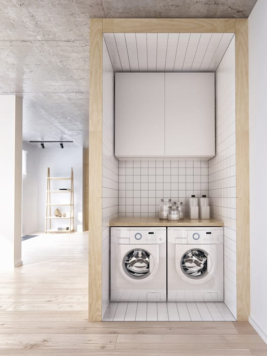 Интерьер IL Кухня в стиле минимализм от INT2architecture Минимализм