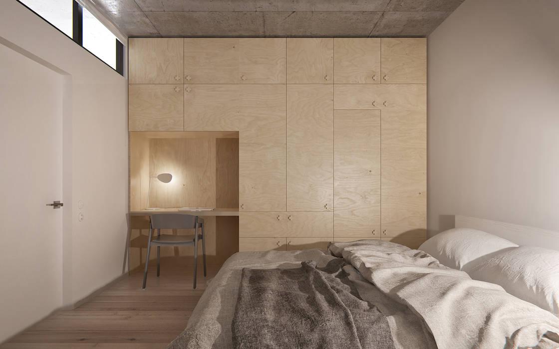 INT2architecture Camera da letto minimalista