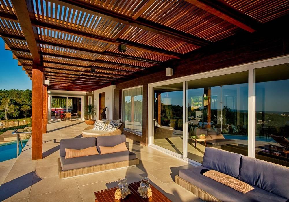 Terrasse de style  par Espaço do Traço arquitetura, Moderne