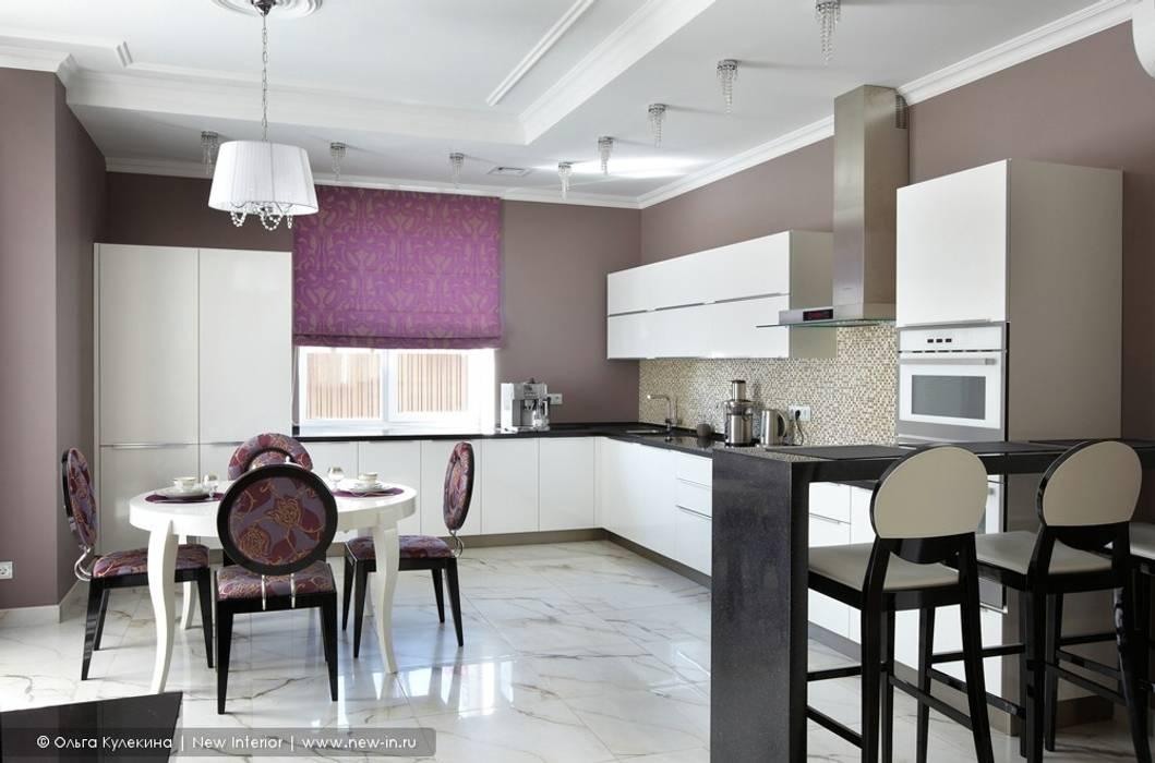 Загородный дом в коттеджном поселке «Красная горка» - 235 м² : Кухни в . Автор – Ольга Кулекина - New Interior,