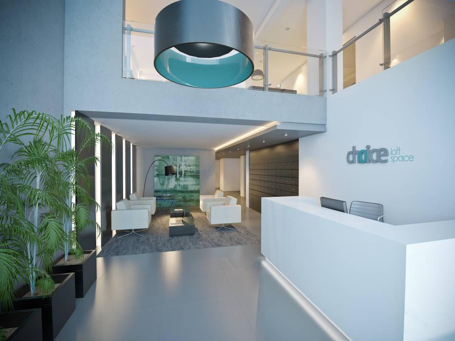 Hall Corredores, halls e escadas modernos por Ideia1 Arquitetura Moderno