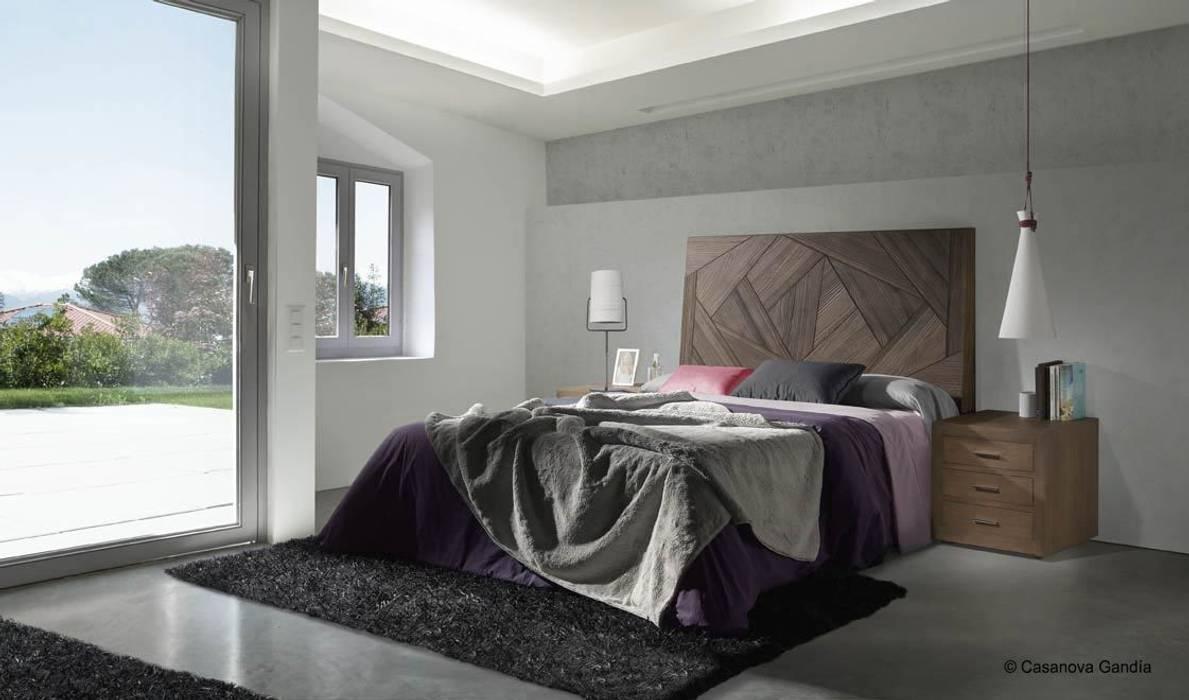 Dormitorio puzzle Evolución: Dormitorios de estilo  de CASANOVA GANDIA