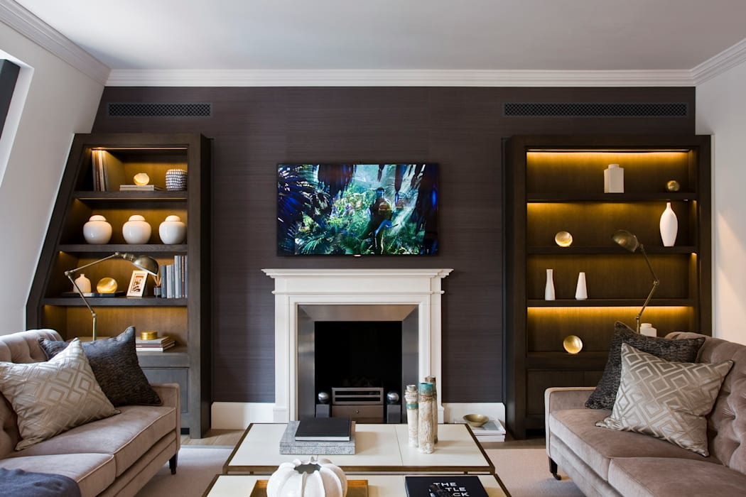 Duke Street, Mayfair:  Living room by Perfect Integration