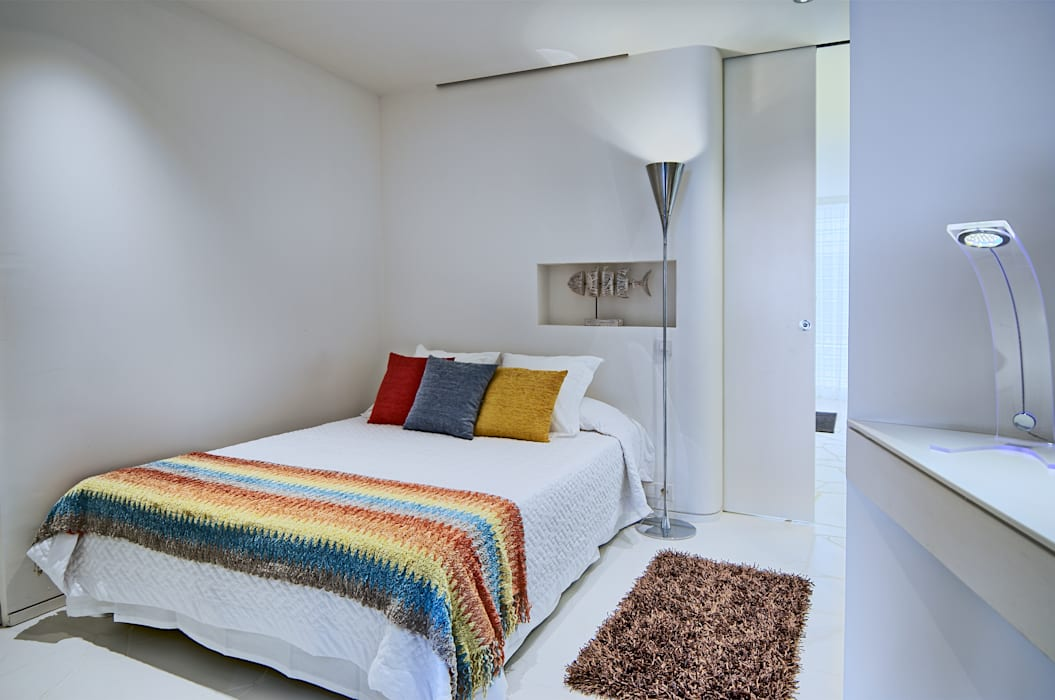 Projekty,  Sypialnia zaprojektowane przez Vondom,