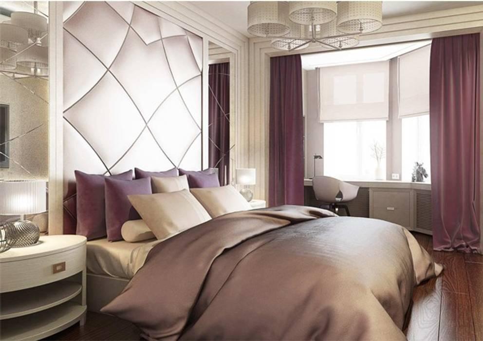 Спальня в стиле Ар деко Павел Белый и дизайнеры Спальня в классическом стиле