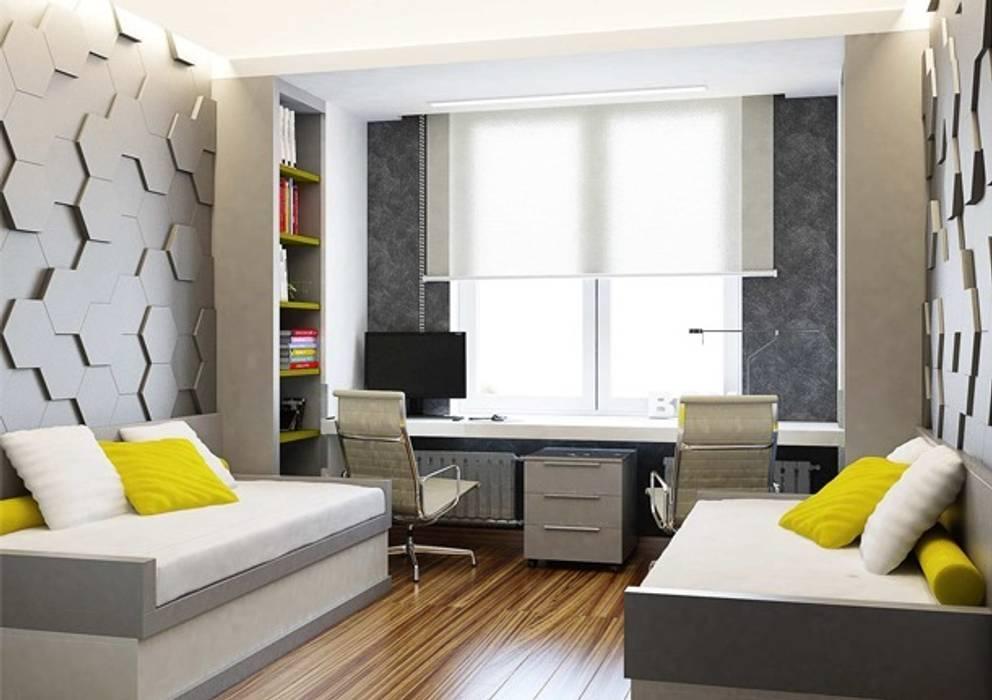Dormitorios infantiles de estilo minimalista de Павел Белый и дизайнеры Minimalista