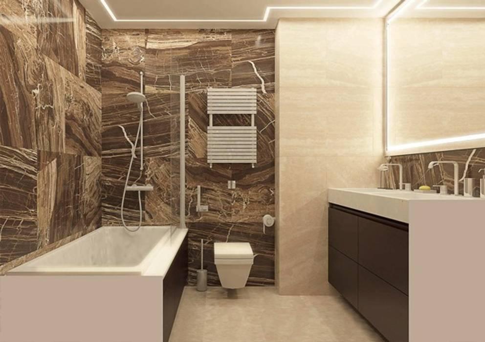 Baños de estilo minimalista de Павел Белый и дизайнеры Minimalista
