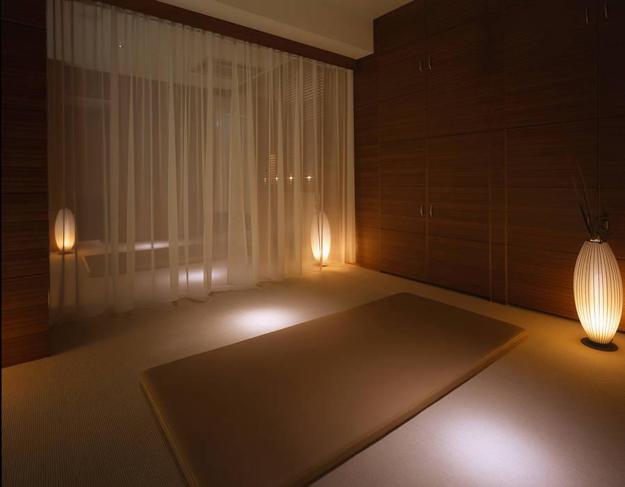Massage area-3 クラシカルな病院 の Shigeo Nakamura Design Office クラシック