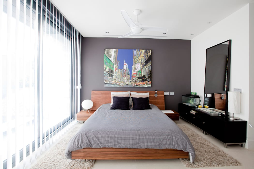 Despierta tigre Dormitorios infantiles de estilo moderno de IPUNTO INTERIORISMO Moderno