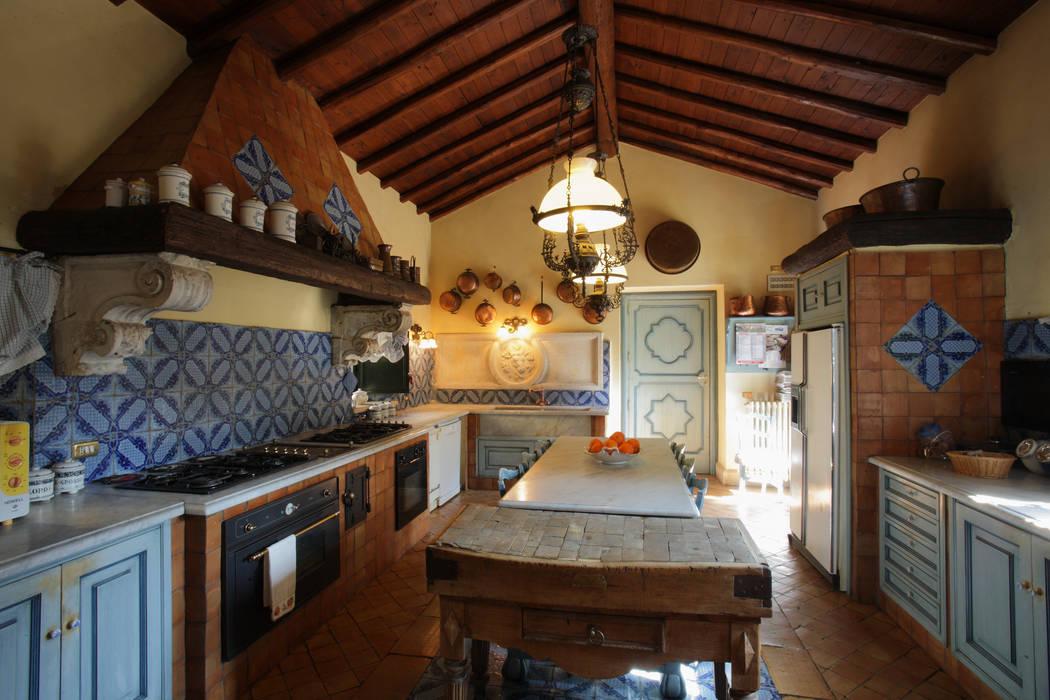 La Dimora di Valverde Cucina in stile rustico di Architetto Giuseppe Prato Rustico
