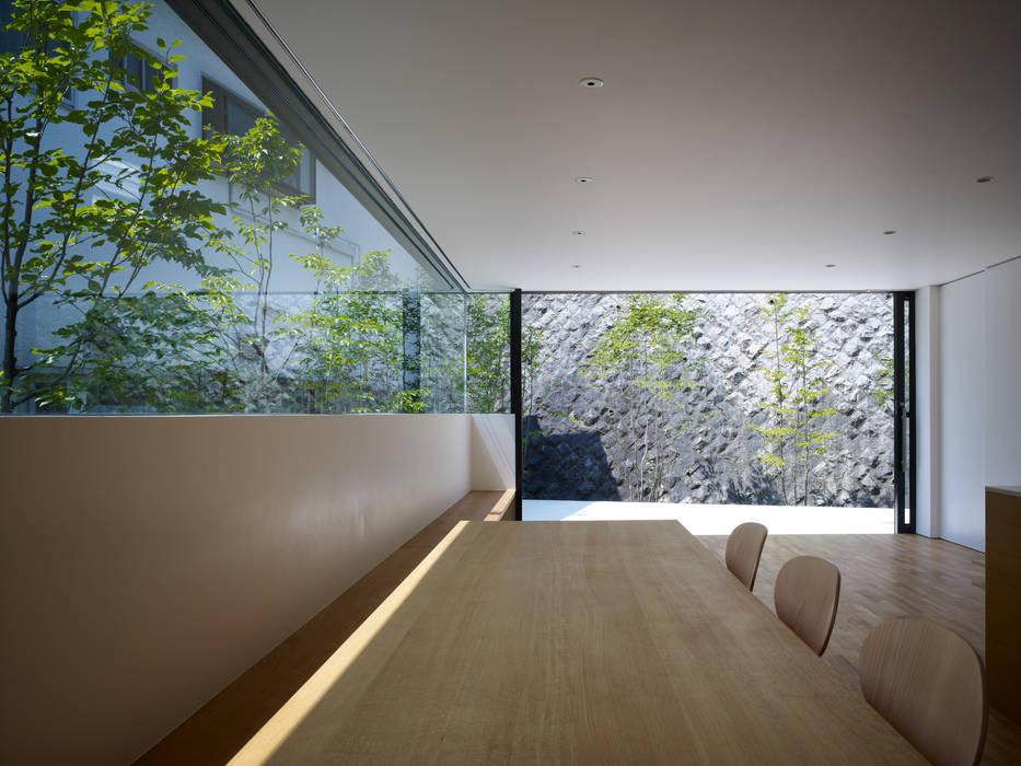 梅ヶ丘の家 モダンデザインの ダイニング の 栗原隆建築設計事務所 モダン
