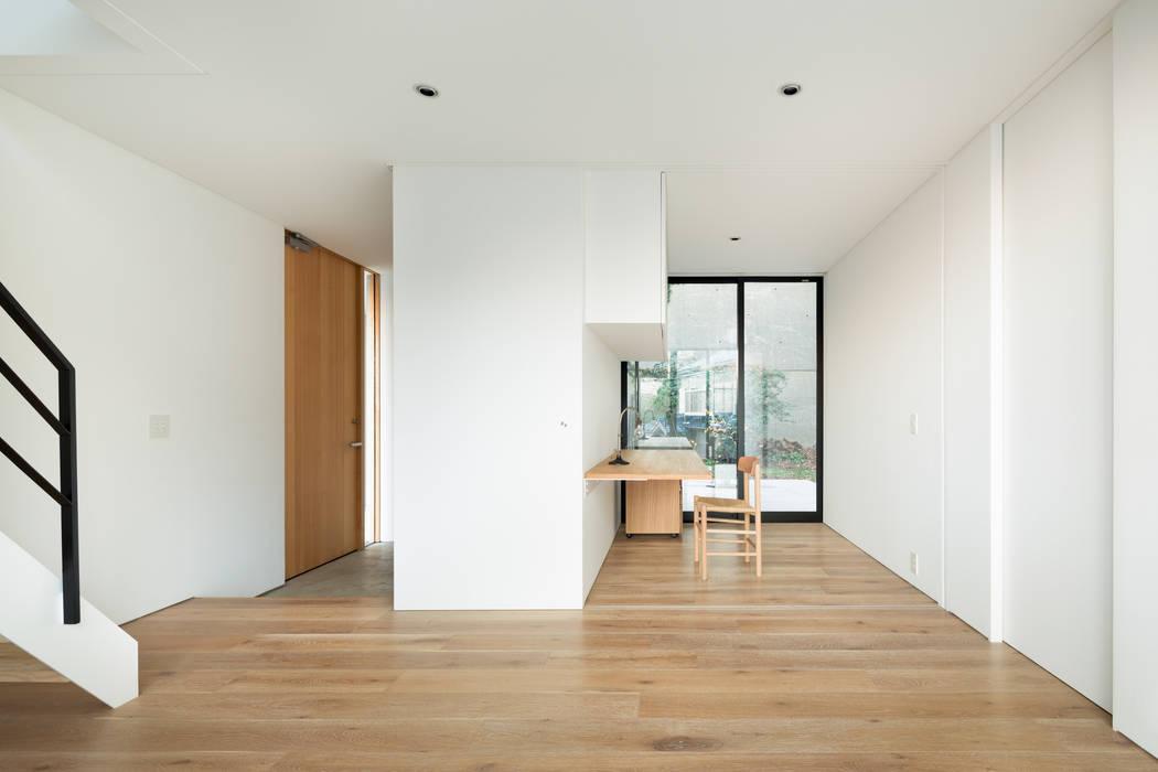 横須賀の家 モダンデザインの 書斎 の 栗原隆建築設計事務所 モダン