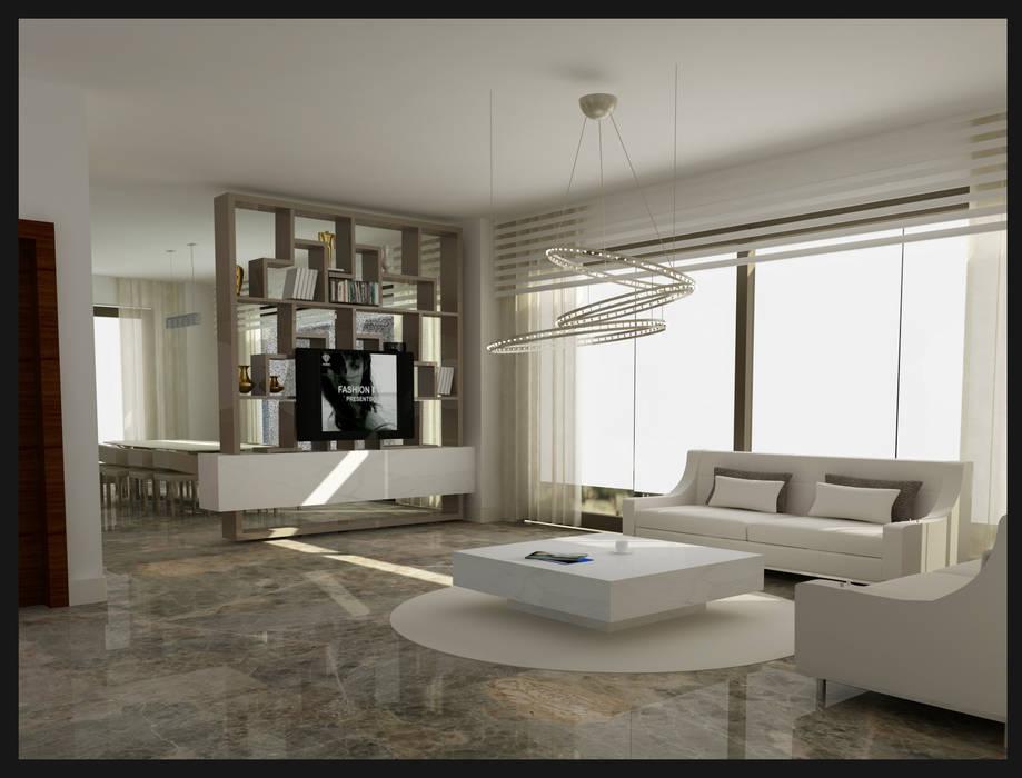 Archidecors – Oturma Odası:  tarz Oturma Odası,
