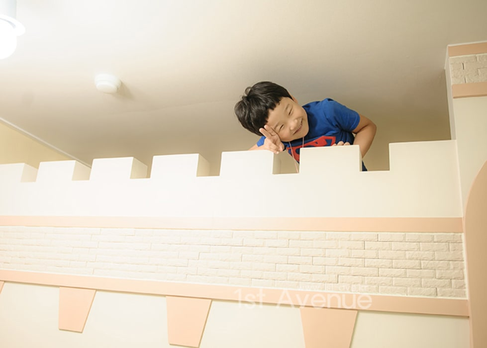 엄마의 사랑이 피어나는 러블리 하우스 지중해스타일 아이방 by 퍼스트애비뉴 지중해