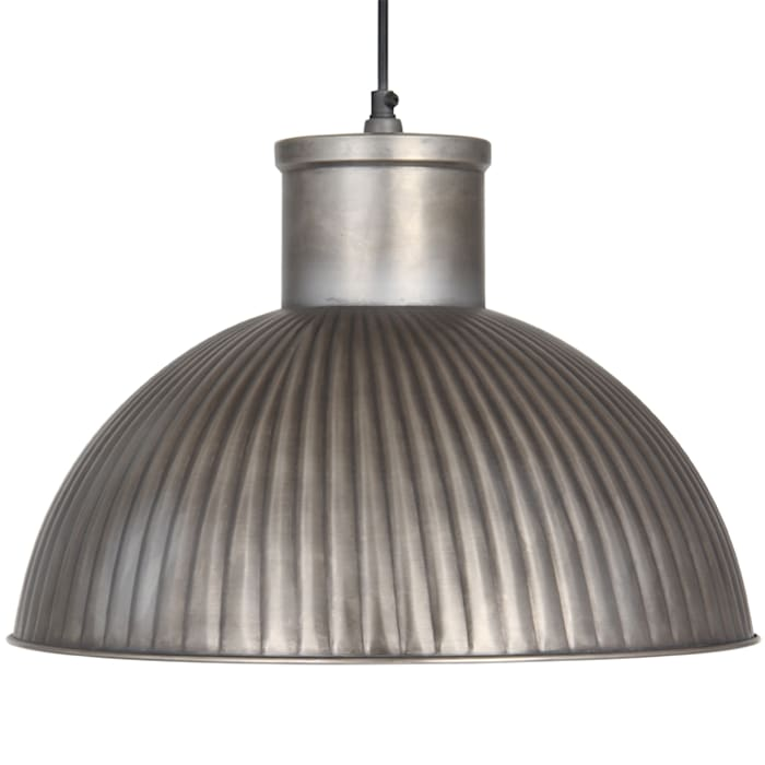 Industrial Style Antique Silver Pendant House Envy KitchenLighting