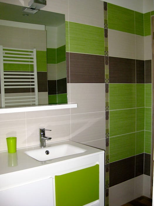 Eclectic style bathroom by B.Inside Eclectic