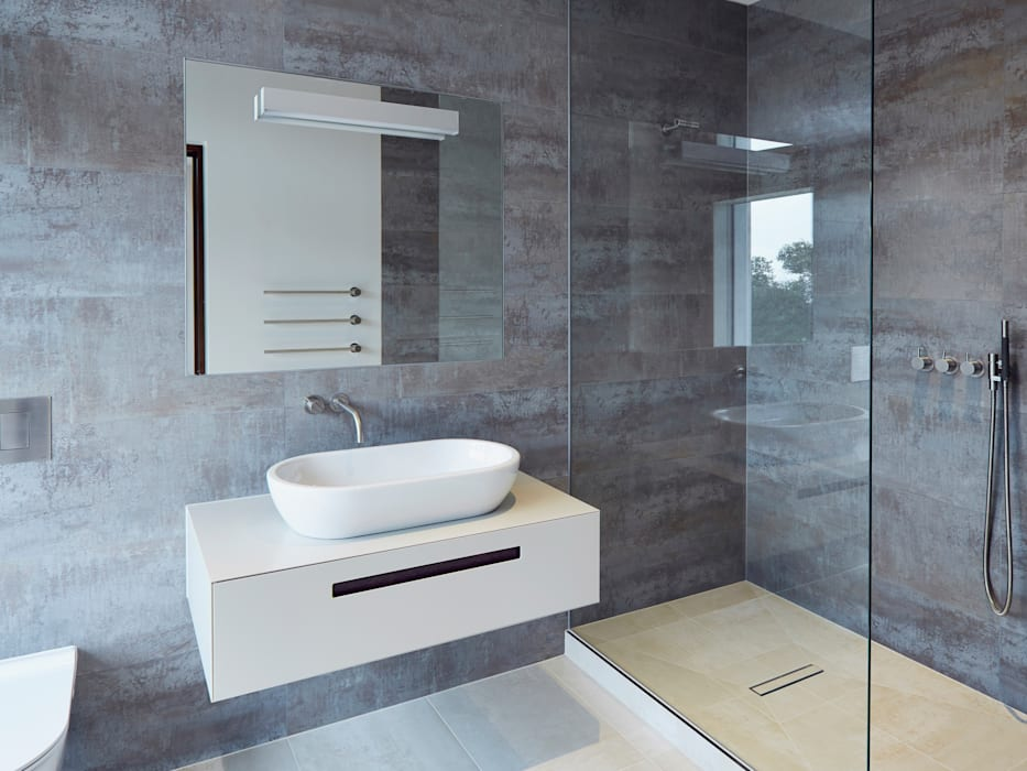 Bathroom Minimalist bathroom by Facit Homes Minimalist
