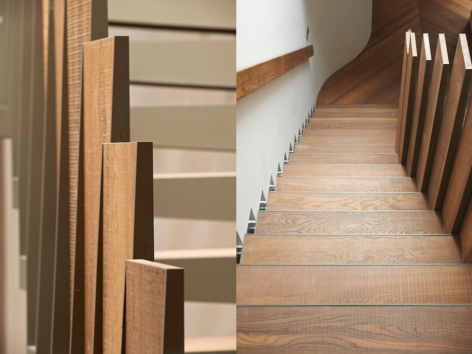 Bespoke Stair Modern corridor, hallway & stairs by Facit Homes Modern
