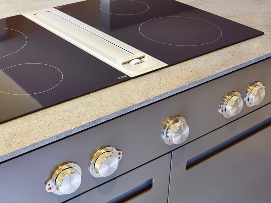Bespoke Kitchen manufactured in House:  Kitchen by Facit Homes,