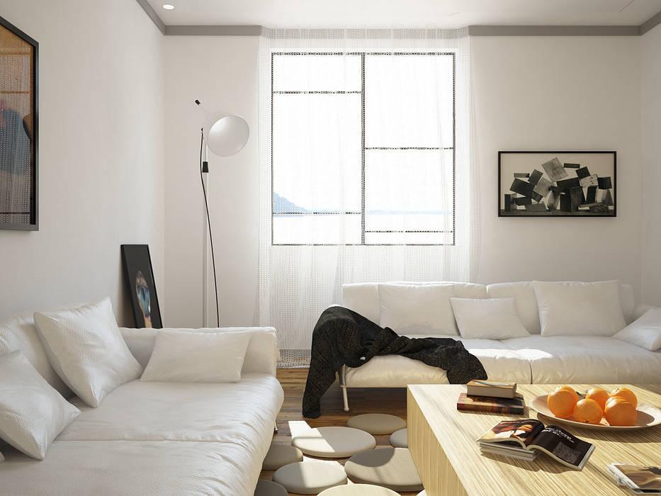 Interiors | Living room| Architecture, Digital Art, Interior Design Modern living room by DesigniTures Modern