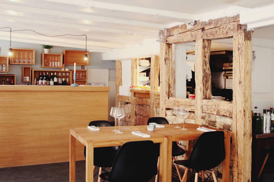 Réabilitation & décoration - Restaurant PBF Gastronomie scandinave par Ektor studio Scandinave