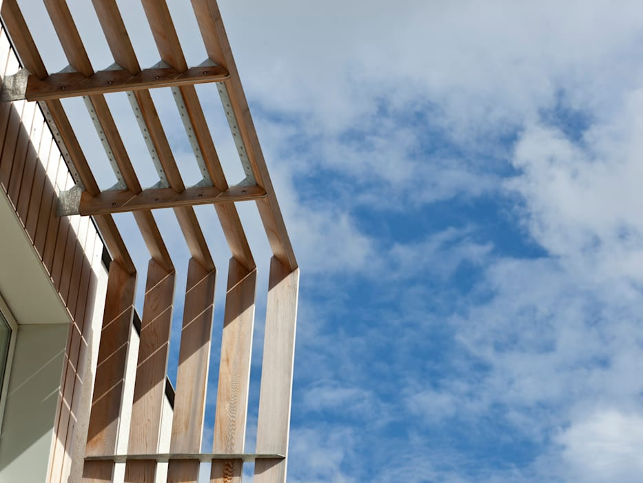 Solar Shades:  Houses by Facit Homes,