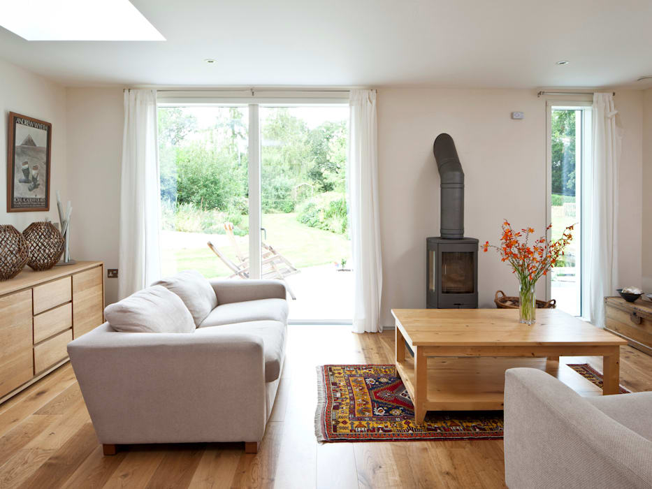 Living Room Modern living room by Facit Homes Modern