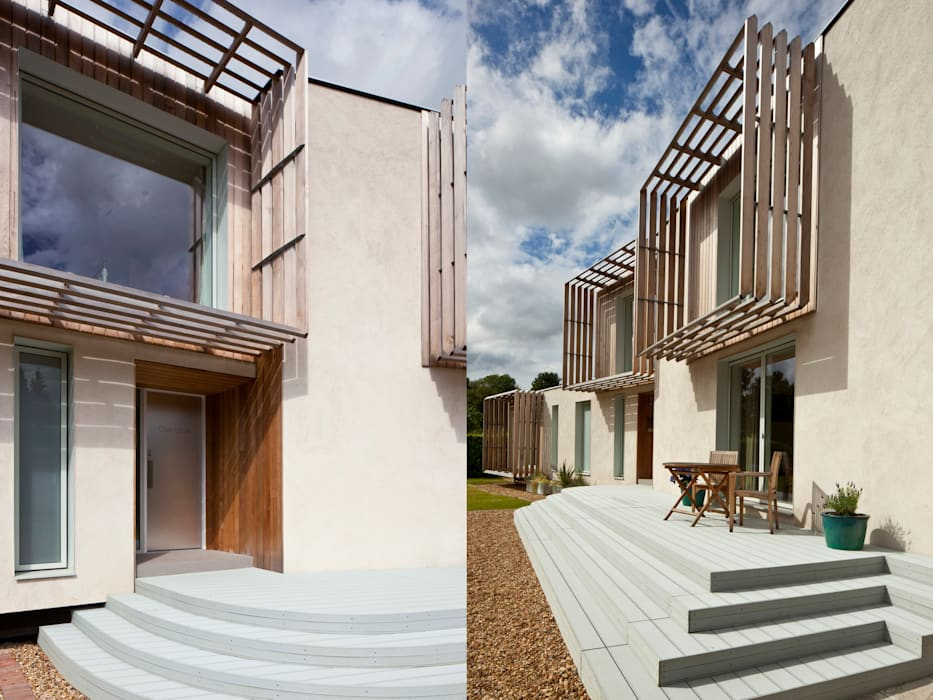 Solar Shades Modern houses by Facit Homes Modern