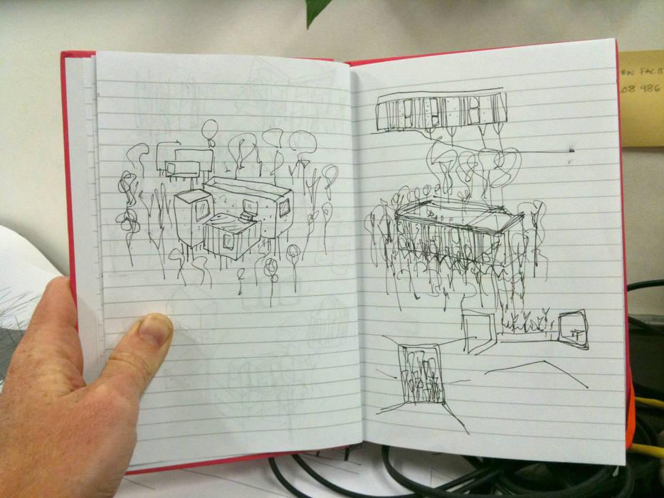 Concept Sketch de Facit Homes