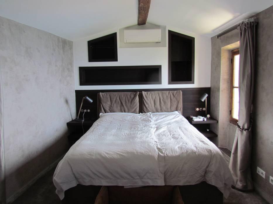 Camere Da Letto Stile Francese : Restauro di una casa molto antica in francia camera da letto in