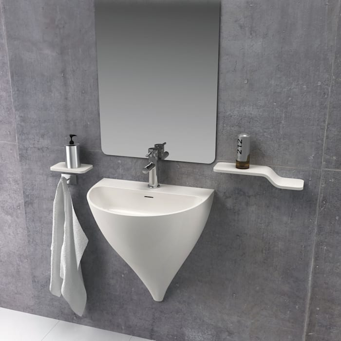 Bathroom by Clausell Studio,
