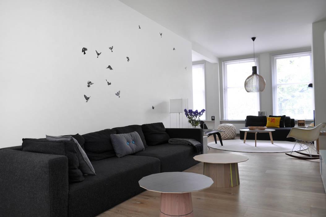 Wallpaper Sparrow:  Woonkamer door Snijder&CO