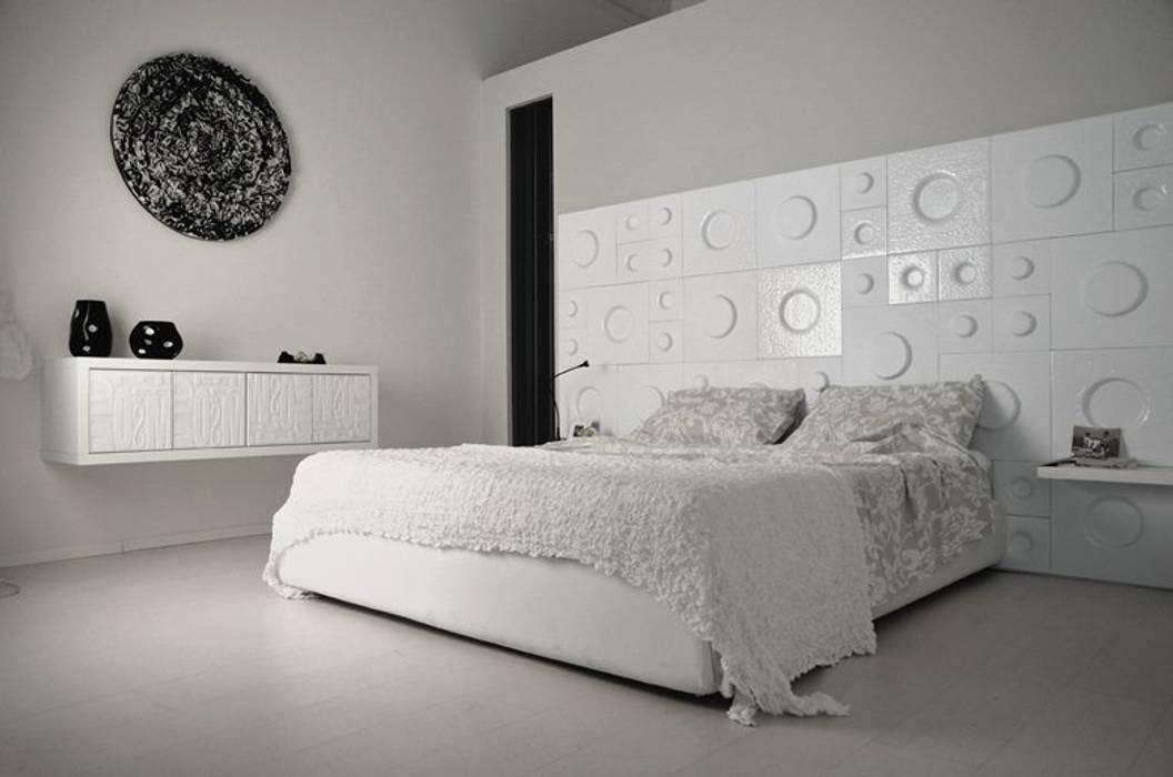 The Loft - testata letto Camera da letto moderna di D.I. Più s.r.l - Andretto Design Moderno