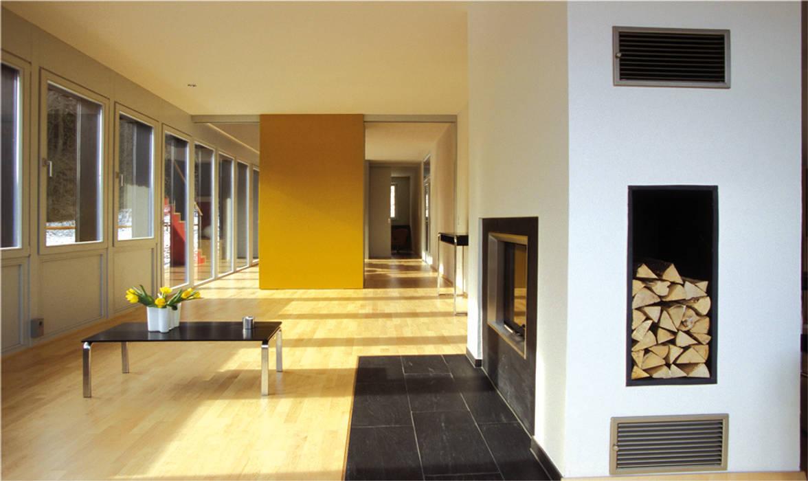 skt umbaukultur Architekten BDA Modern living room