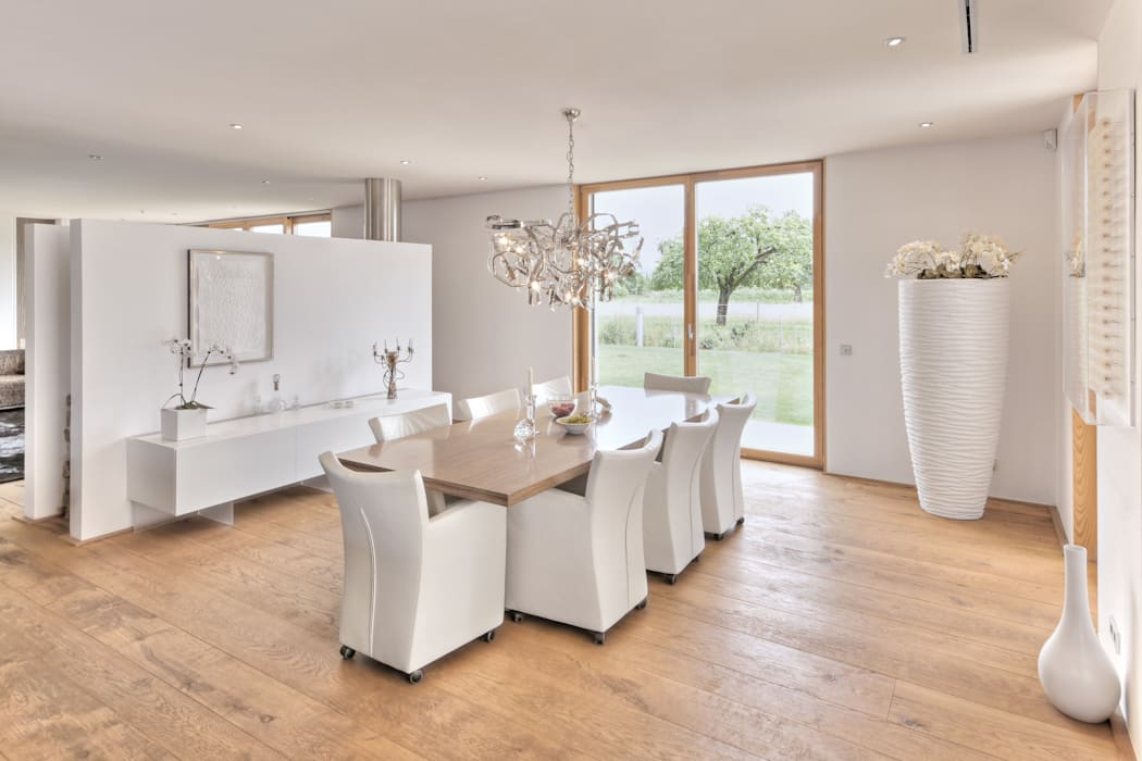 Grossmann Architekten Sala da pranzo moderna