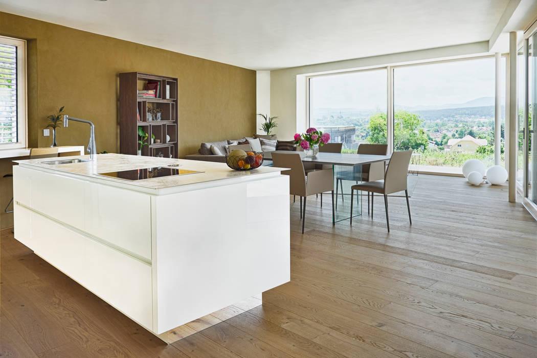 Modern dining room by AL ARCHITEKT - in Wien Modern