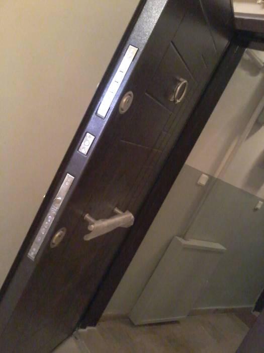 Çelik Kapı Uygulama Klasik Pencere & Kapılar Ortaköy Parke İç Dekorasyon Klasik