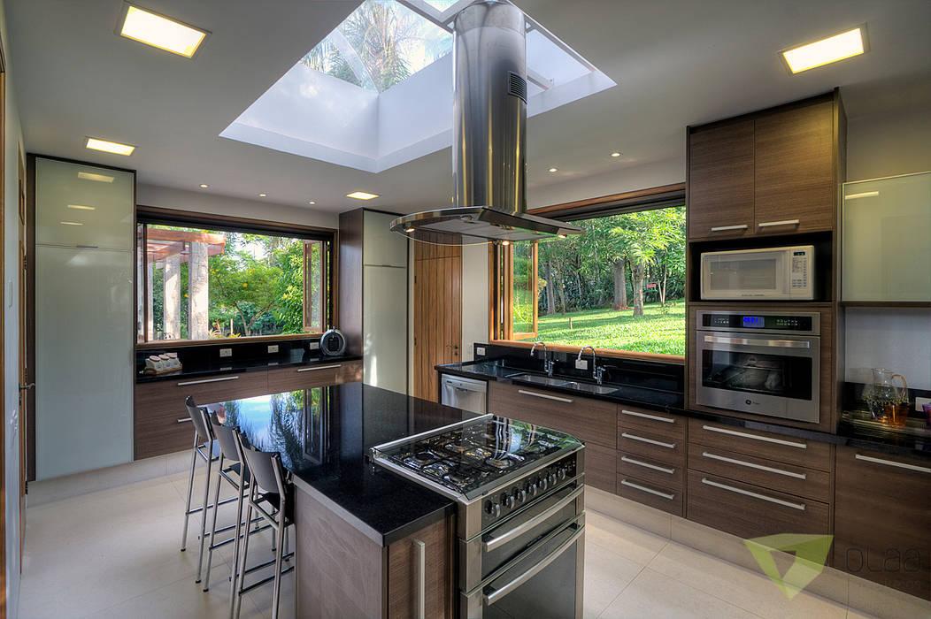 Casa de Campo Quinta do Lago - Tarauata Cozinhas campestres por Olaa Arquitetos Campestre