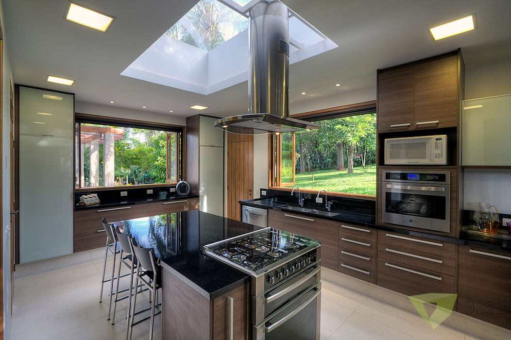 Кухни в . Автор – Olaa Arquitetos, Кантри