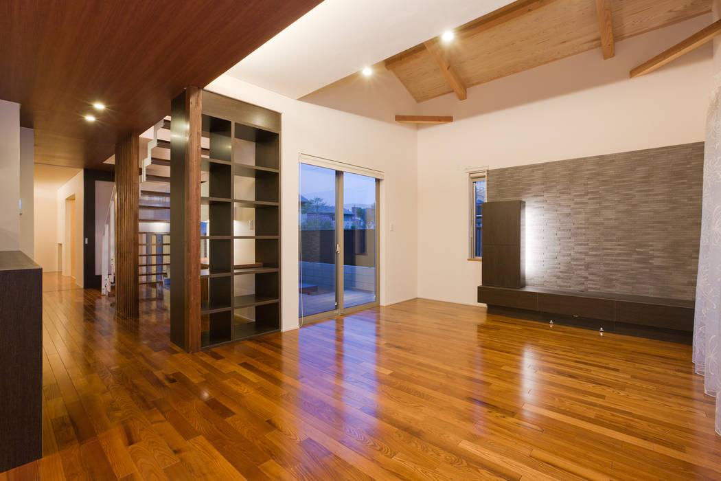 エヌスペースデザイン室 Eclectic style living room