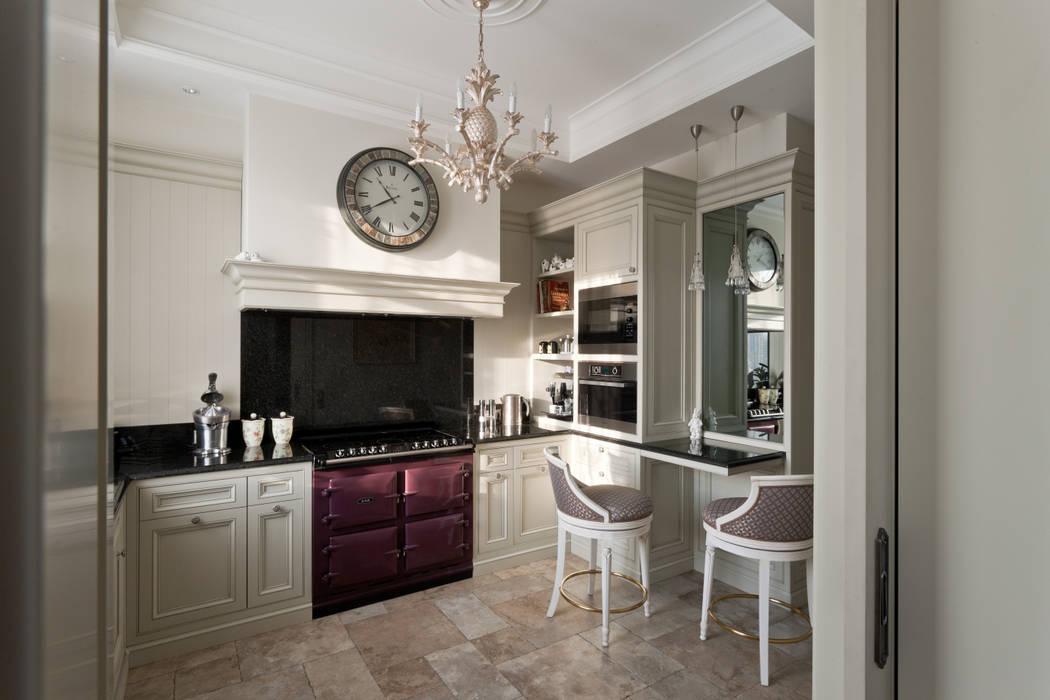 Квартира на набережной. А-Дизайн Кухни в эклектичном стиле