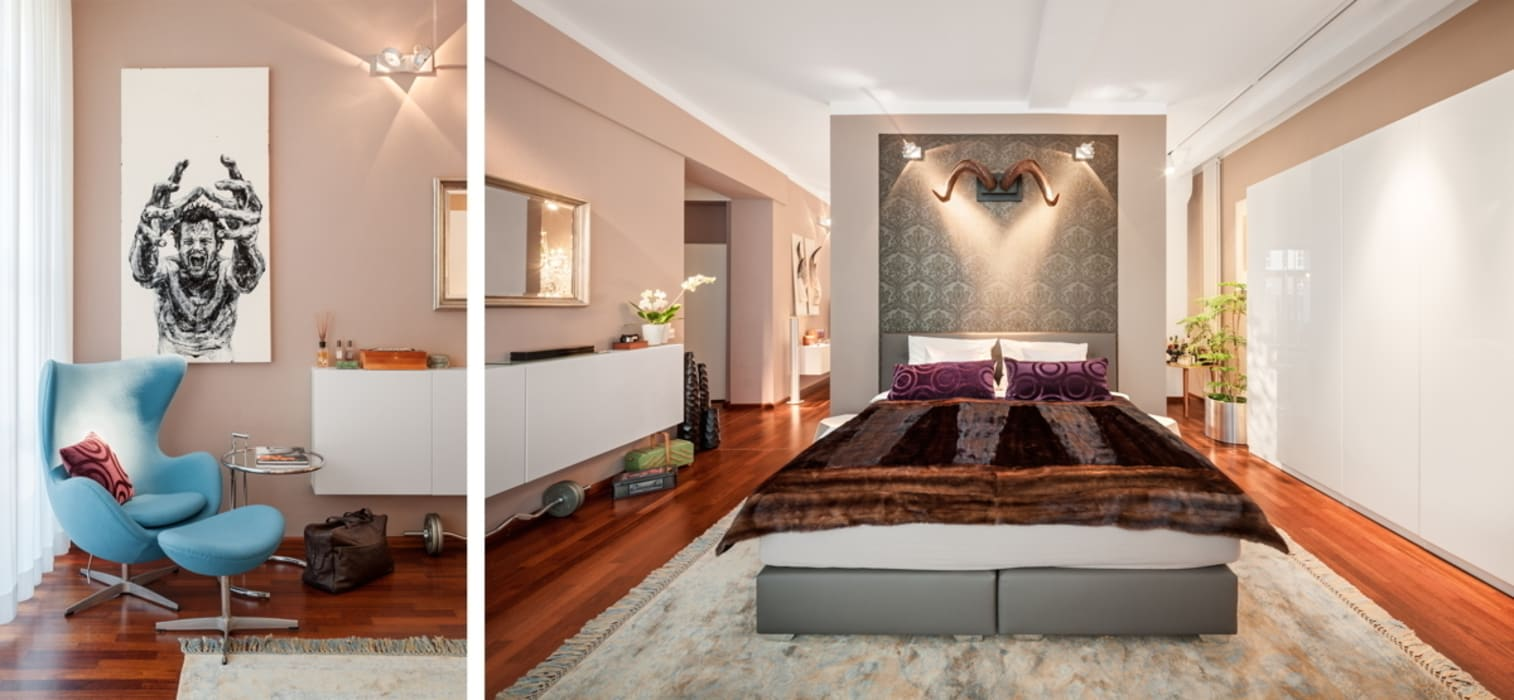 BERLINRODEO interior concepts GmbH Modern style bedroom