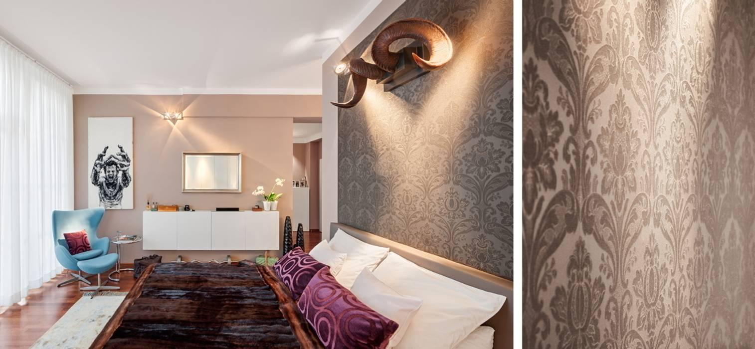 غرفة نوم تنفيذ BERLINRODEO interior concepts GmbH