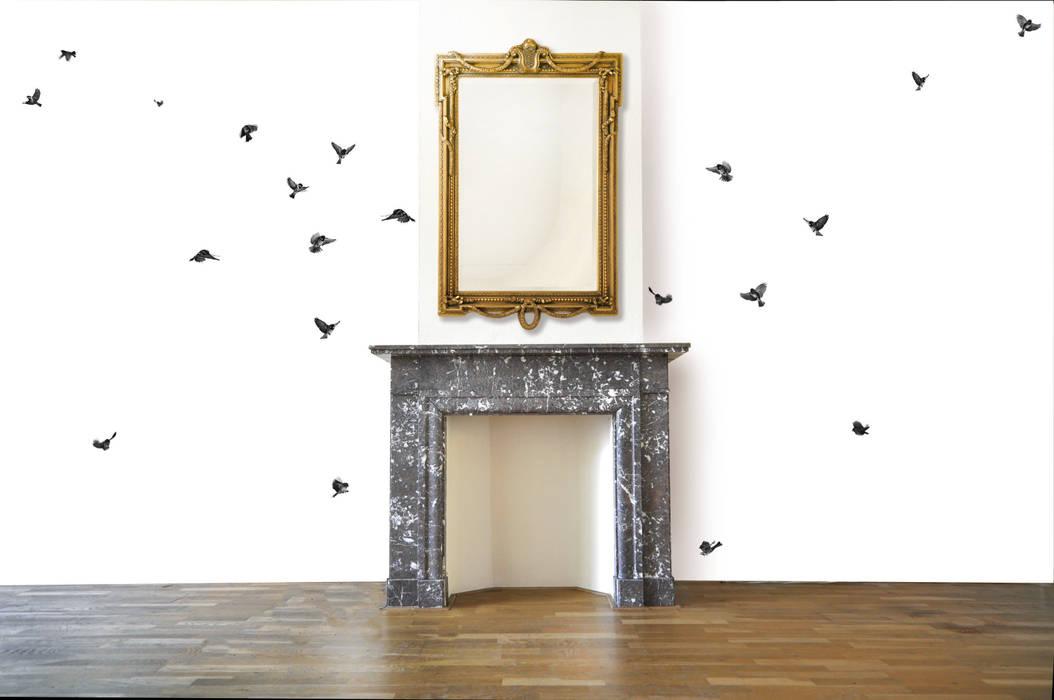Wallpaper Sparrow Moderne muren & vloeren van Snijder&CO Modern