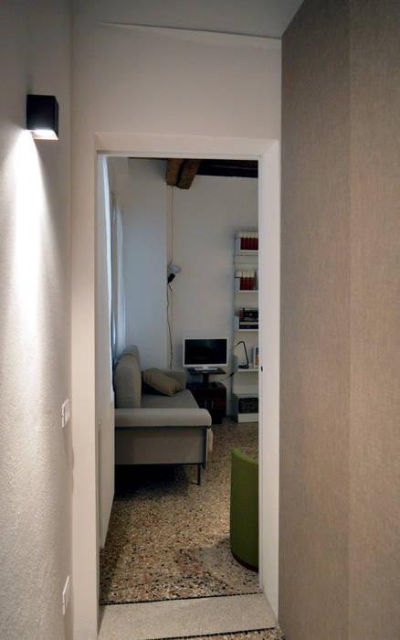 house dz - interni: Soggiorno in stile in stile Moderno di A-Office /architecture platform