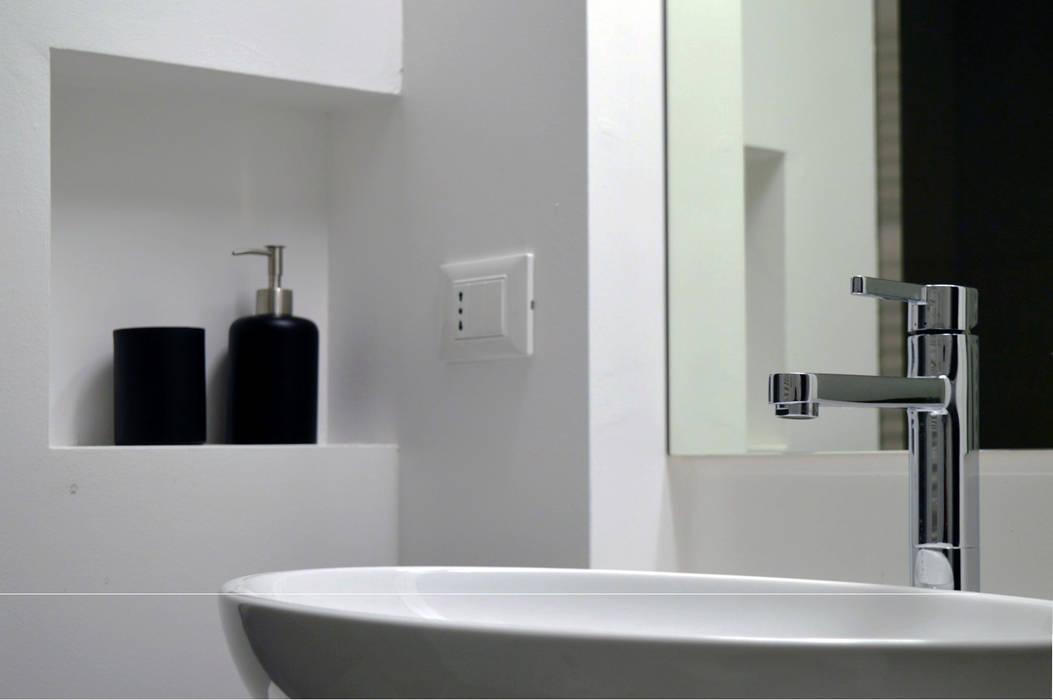 house dz - interni: Bagno in stile in stile Moderno di A-Office /architecture platform