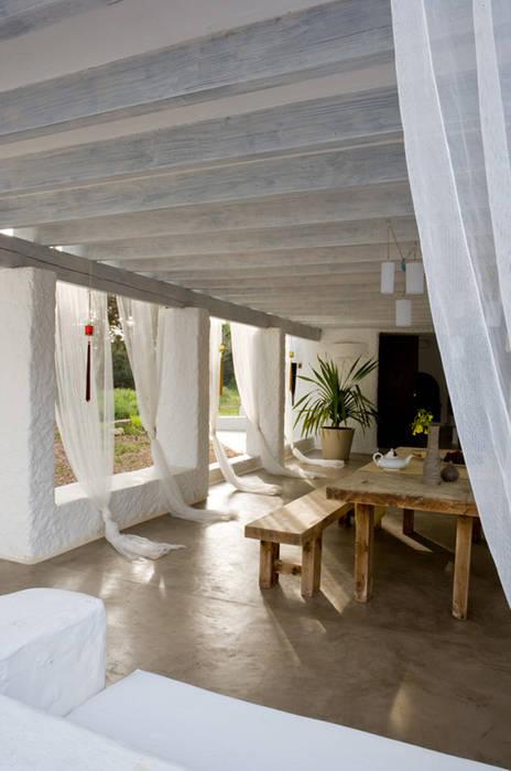 Casa Punta Rasa Deu i Deu Balcones y terrazas de estilo mediterráneo
