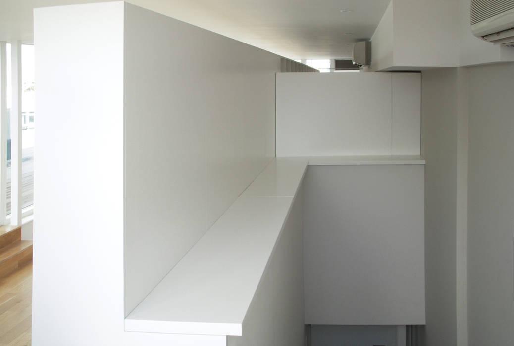 Zaha Hadid Architects - Studio refurbishment Modern offices & stores by Tendeter Modern